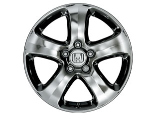 17 5-Spoke Chrome-Look Alloy Wheels - Honda (08W17-SWA-100)