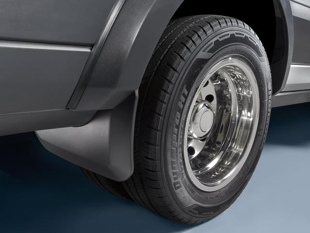 Splash Guards, Molded, Dual Rear Wheels - Ford (EK3Z-16A550-CA)