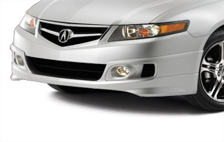 Tsx spoiler acura oem parts spoiler front under body sciox Image collections