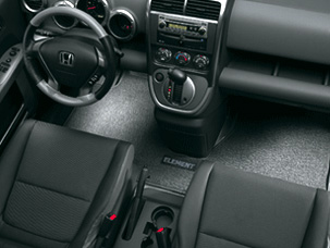 Floor Mats, Carpet - Honda (08P15-SCV-111)