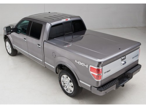 2010 2014 Ford F 150 Tonneau Cover Hard Painted 6 5 Bed Vdl3z 99501a42 Bk Winner Ford