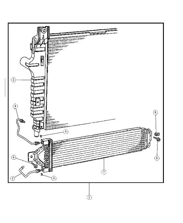 cooler kit  transmission oil  radiator