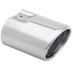 Tail Pipe Cover, Chrome