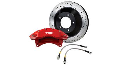 Brake Kit, Trd Logo, Trd High Performance