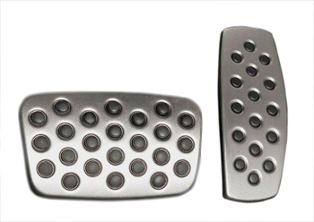 BRAKE AND ACCELERATOR PEDAL COVERS SET