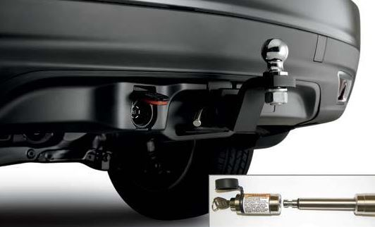 Towing Package, Hitch Ball 1-7/8""