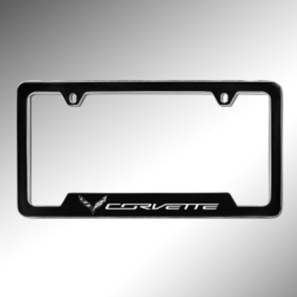 License Plate Frame, Black