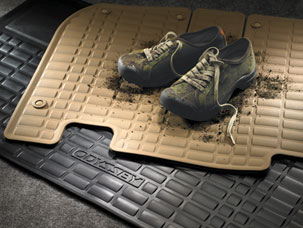 All-Season Floor Mats - Black
