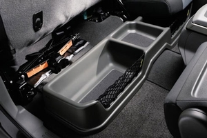 Rear Under-Seat Storage Bin (Charcoal)