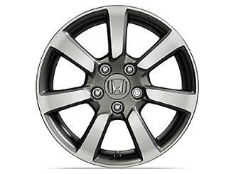 16 Inch Machine Finish Alloy Wheel - Coupe And Sedan
