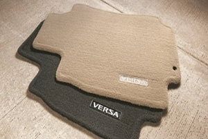 Floor Mats, Carpet (Models W/Trunk Release)