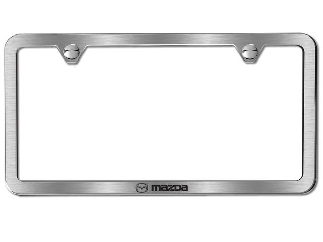 License Plate Frame W/ Mazda Logo, Slimline - Mazda (0000-83-Z63 ...