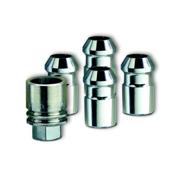 Wheel Lock Kit, Chrome