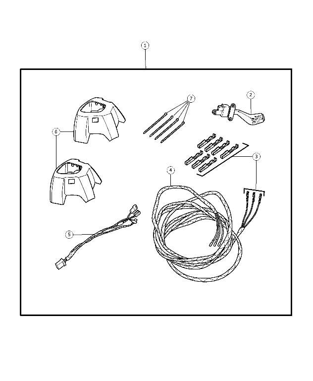 Speed Control Kit - Wiring, Steering Wheel
