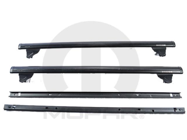08 11 Dodge Nitro Roof Rack Cross Rails Mopar Genuine Oem