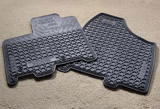 6PC All Weather Mats Sienna - Toyota (PU320-08110-01)