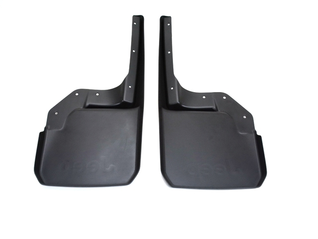 Deluxe Molded Splash Guards - Black - Front - Mopar (82210233)