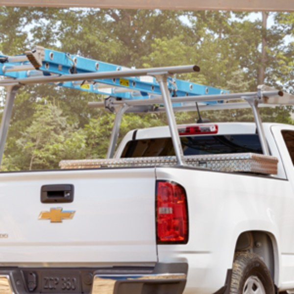 Bed Complete Ladder Rack, Dual Cross Bar
