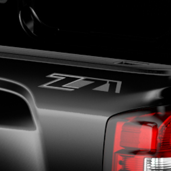 Graphics, Z71 Off Road Decal