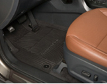 Floor Mats, All Weather ( black ) 3rd Row only!