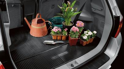 Highlander Black Cargo All Weather Mats