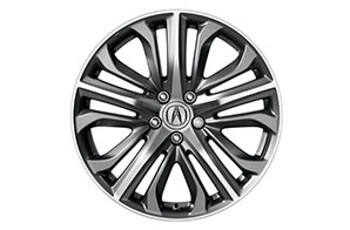 19-In Diamond-Cut Alloy Wheels