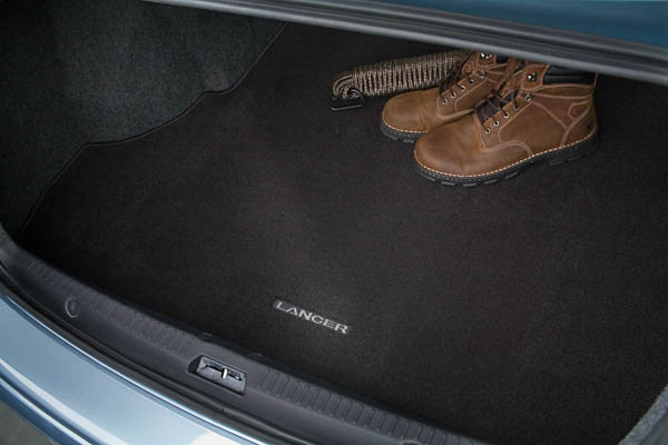 Cargo Area Mat, Models W/O Sub-Woofer