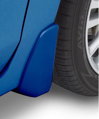 Splash Guards 4 Dr- Quartz Blue Pearl