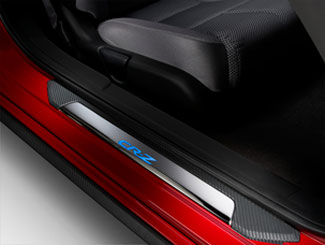 Illuminated Door Sill Trim - Blue - Honda (08E12-SZT-100)