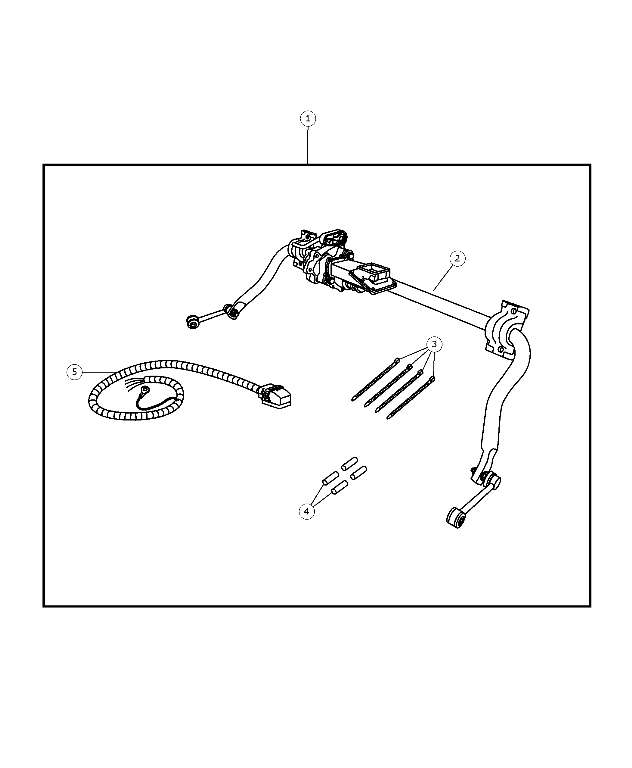 Electronic Stabilizer Bar Kit, Harness