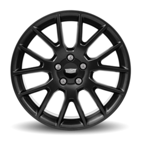 """19"""" Wheel, Front, 7-Spoke Satin Graphite, 5XU"""