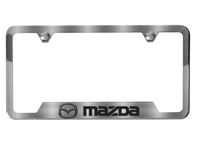 License Plate Frame, Mazda Logo