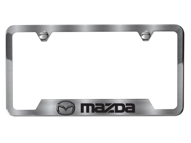 Mazda License Plate Frames - REALMazdaParts.com