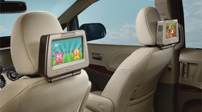 Cover, Sear Top Dock, Rear Seat Entertainment