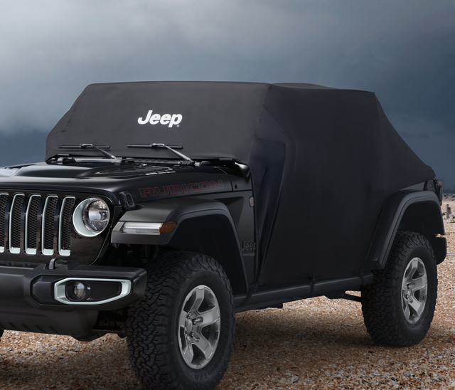 Vehicle Cover - Black - 2-Door