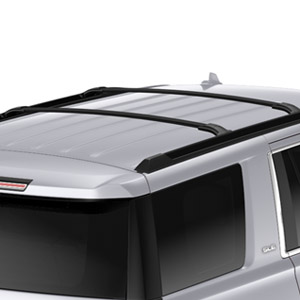 Roof Cross Rails, Black - GM (23256564)