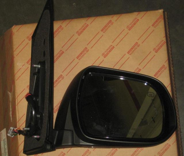 Genuine Toyota 87910-08093-J0 Rear View Mirror Assembly