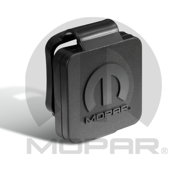 Hitch Receiver Plug - W/ Mopar Logo - 2 In - Mopar (82208455AB)