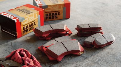 TRD Rear Performance Brake Pads - Toyota (PTR09-0C110)