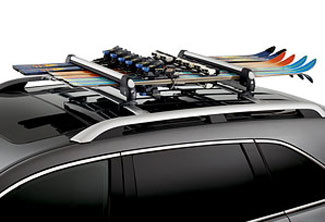 Ski Attachment, Roof Rack