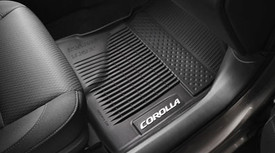 Corolla All Weather Mats Black