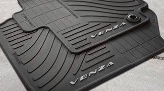 Floor Mats, All-Weather, Set Of Four, Black