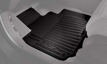 Floor Mats, All-Weather High Wall, Black - Honda (08P17-TLA-111)