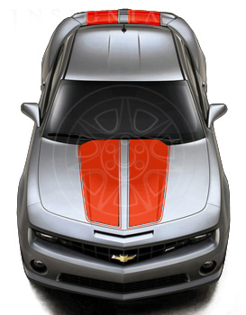 Exterior Trim, Rally Stripe Package - GM (22774078)