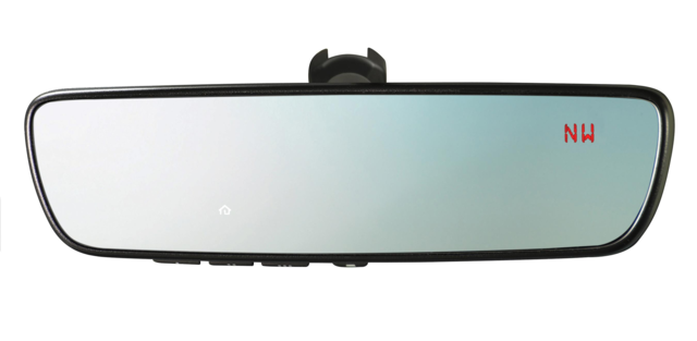 Auto-Dimming Mirror With Compass And Homelink - Subaru (H501SSG304)
