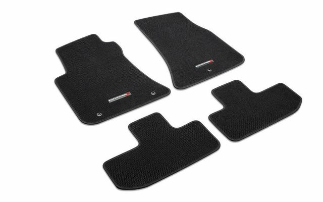 Floor Mats, Carpet, Dodge Logo, Set Of Four - Mopar (82214927AC)