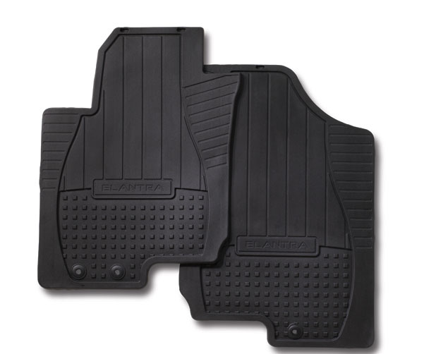 Floor Mats, All Weather, Rear - Hyundai (00281-87001)
