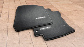 Carpet Floor Mats, Black 4pc - Toyota (PT206-0T090-20)