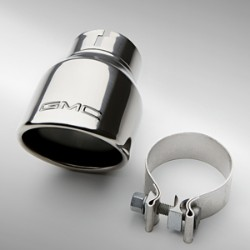 Exhaust Tip, V6 Engine