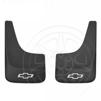 Splash Guards, Contour, Medium W/ Bow-Tie Logo